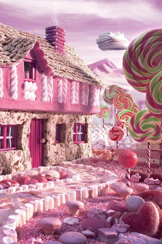 夢のお菓子の国