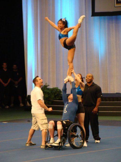 Cheerleading, Stunts and Cheer on Pinterest