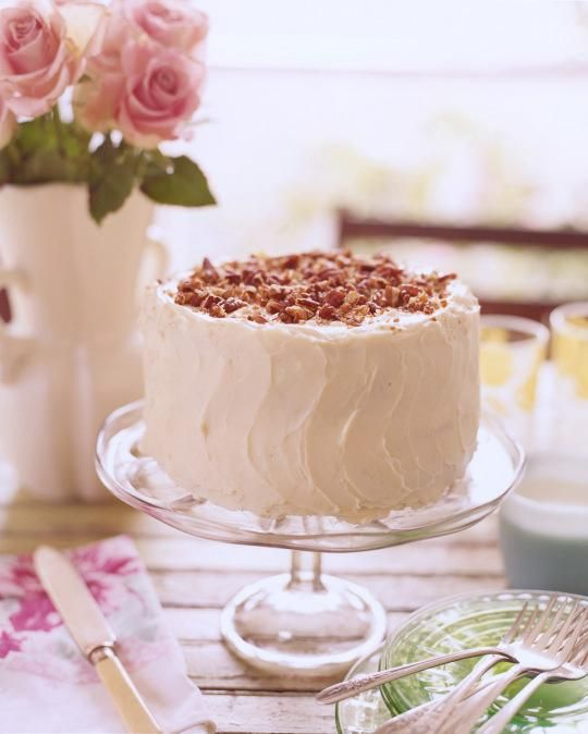 This old-fashioned layer cake has blackberry jam mixed right into the ...
