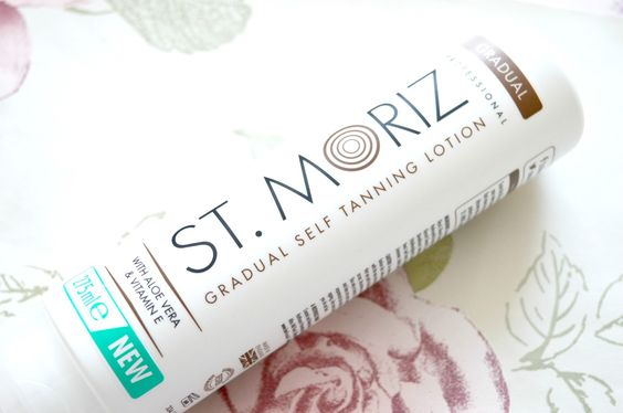 THE BEST GRADUAL SELF TAN? | ST MORIZ GRADUAL SELF TANNING LOTION
