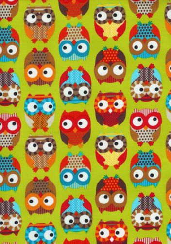 so many owls: Hoot Owls, Hoot Hoot, Bright Owls, Owls Owls, Wallpaper Patterns Prints, Alice Kennedy, Owl Fabric, Owl Patterns