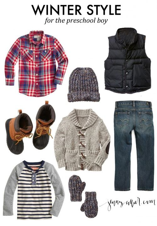 Winter Style for the Preschool Boy