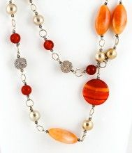 This stunning statement necklace by Moondit Designs is hand crafted with care, love and attention to detail. Saturn's Kiss is a limited edition piece and a must have for your jewellery collection. Made using Red Aventurine, Carnelian and .925 Sterling Silver all jewellery is 100% guaranteed for quality workmanship and comes in its own wooden and leather box to ensure that the gift you give or receive is incredibly special. $220
