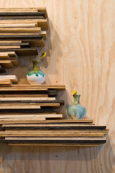 Shelves, Plywood shelves and Shelving on Pinterest
