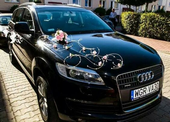 Decoracion para carro de novios la boda pinterest - Decoracion coche novia ...
