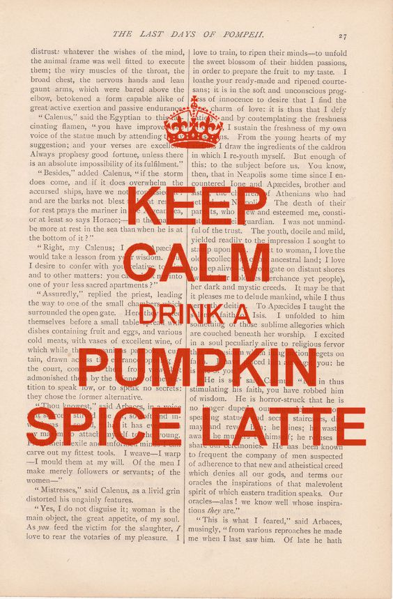 It's almost pumpkin spice latte season, the most wonderful time of the year :)!