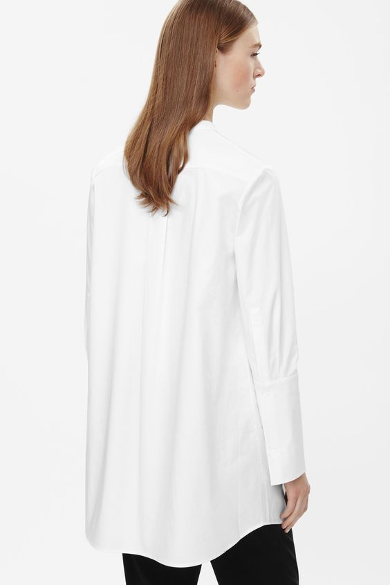chemise tunique large manchette