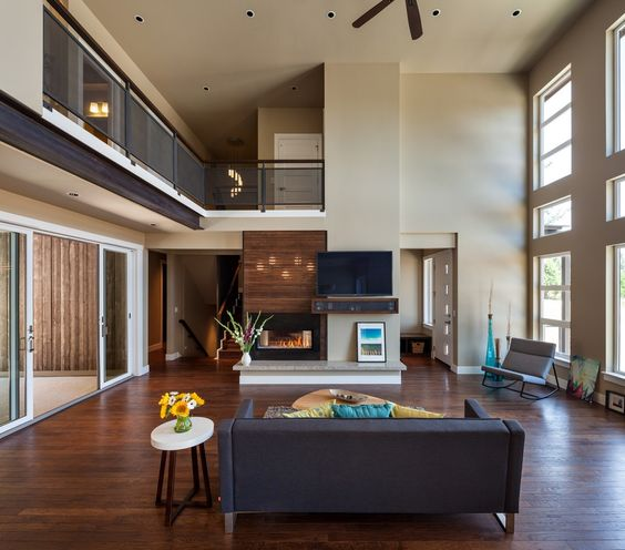 modern design 2 Luxurious Multi Level House With Elevator and Custom Dog Wash Room