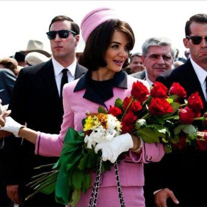 Jackie sempre linda e bem vestida - Chanel