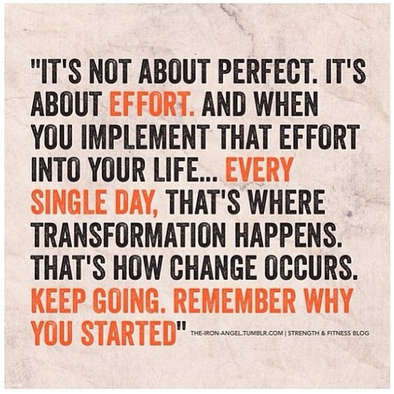 This is true. The more effort you put in, the easier it becomes. Then you challenge yourself to do more. It's all about practice.: