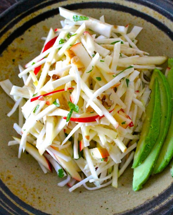 Apple & Celery Root Matchstick Salad with Bitters Vinaigrette | Apples ...