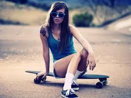 skateboards / girl