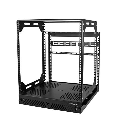 Startech Com 12u Slide Out Server Rack Rotating 4 Pos Https Smile Amazon Com Dp B076n66b7f Ref Cm Sw R Pi Dp U X Nfdjcb4kaqz8t Server Rack Network Rack