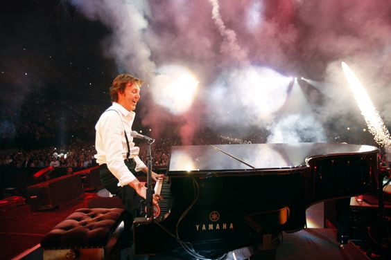 Paul McCartney performing at the Ahoy in Rotterdam, The Netherlands on March 24th,  2012.