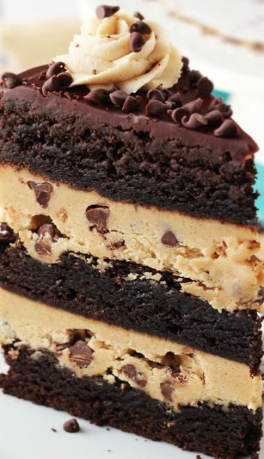 Cookie dough cake recipe from scratch