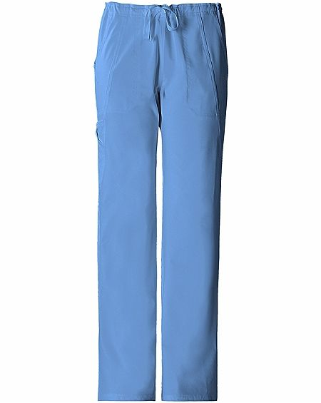 Cherokee Perfect Stretch 1010T Mid-rise, Straight Leg, Tall Drawstring Pant