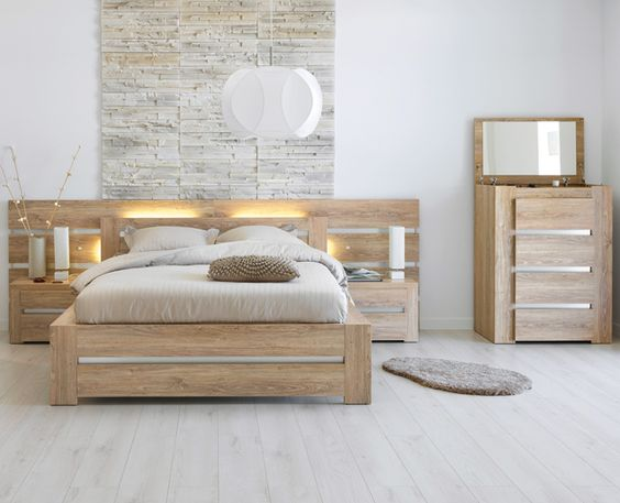 deco chambre parentale nature. Black Bedroom Furniture Sets. Home Design Ideas