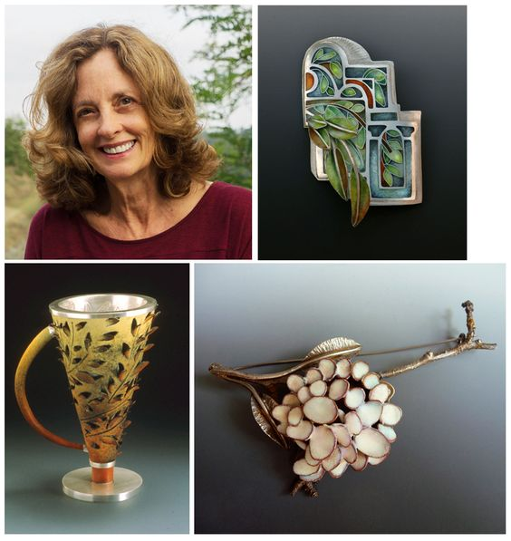 This time, Marlene spotlights master enamelist Linda Darty. Linda has played a pivotal role in advocating on behalf of the integrity and versatility of the art form of enameling.: