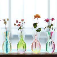 水を注ぐと美しい花瓶に大変身*「D-BROS」のフラワーベースをインテリアに