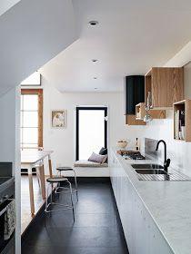 elv's: black, white and wood