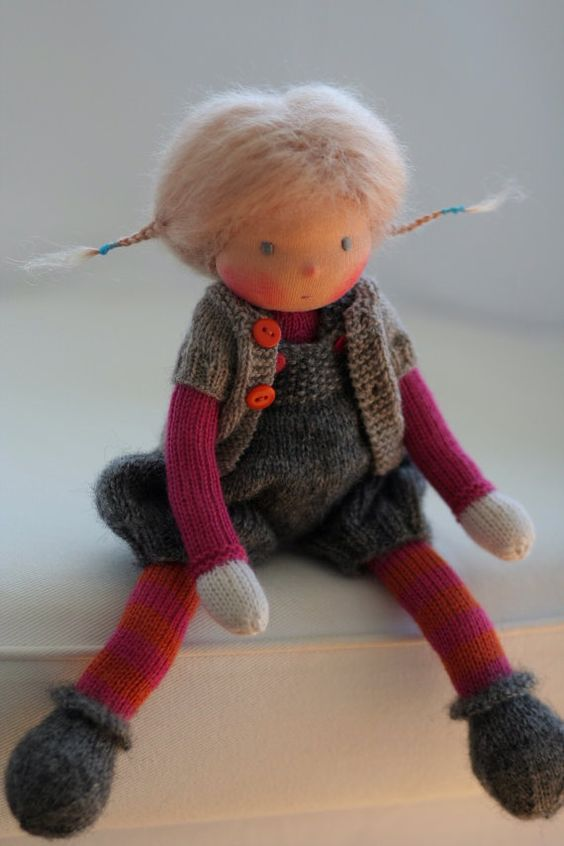 Knitting Patterns For Waldorf Dolls : Pinterest   The world s catalog of ideas