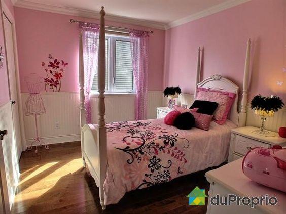 Chambre 2 de rêve à voir à Chambly #DuProprio  Deco  Pinterest