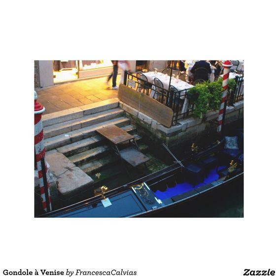 Gondole à Venise Toile Tendue