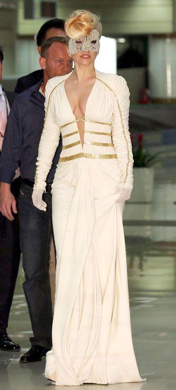Lady Gaga in Versace: