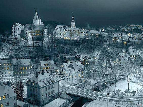 Erzgebirge, Germany.