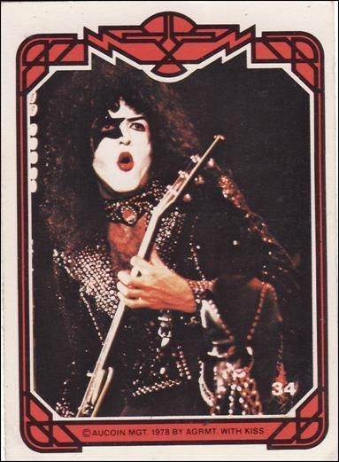 Image result for kiss cards 1978