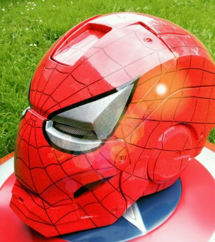 #Spiderman, iron man, #marvel 1:1 #helmet,  View more on the LINK: http://www.zeppy.io/product/gb/2/172305997042/