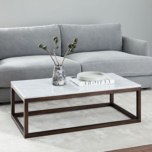 Emmerson Reclaimed Wood Coffee Table Stone Gray Em 2020