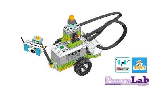 Lego wedo + Scratch – Milo envia missatges