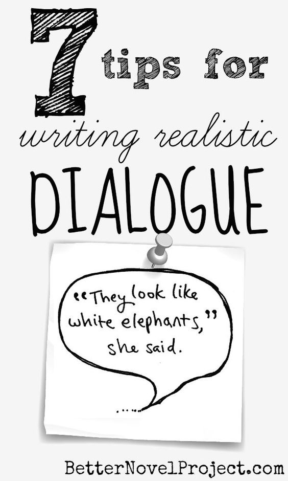 writing a dialogue Rules for writing dialogue the following rules should help you learn to write dialogue properly notice the punctuation in the following examples, especially in addition to these hints on form, please remember that dialogue should be natural for the characters speaking (be sure to keep in mind your characters' personality traits) 1.