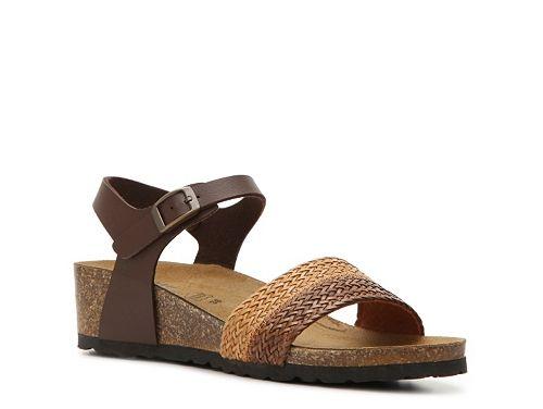 Spring sandals. Summer sandals. Comfortable sandals. • Spring Step Pantheon Wedge Sandal | DSW