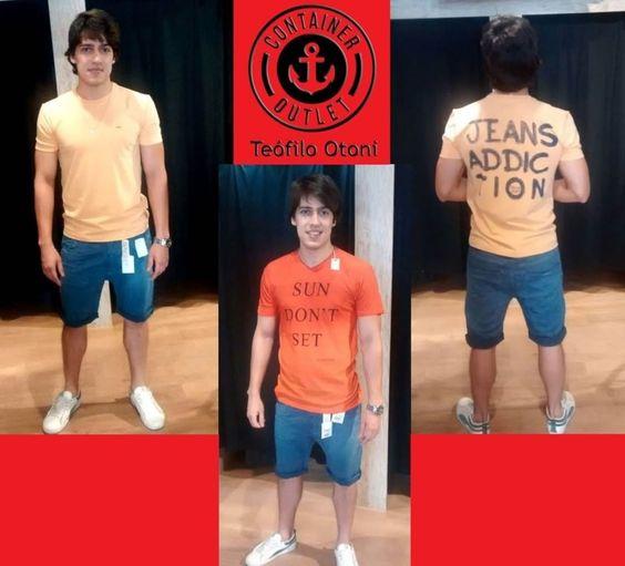 Camisetas masculinas só 39,99! #Vemprocontainer #Containeroutlet #Modamasculina #Grandesmarcas #Pequenospreços