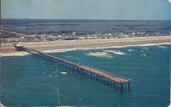 On the back of this post card read surf city fishing for City island fishing