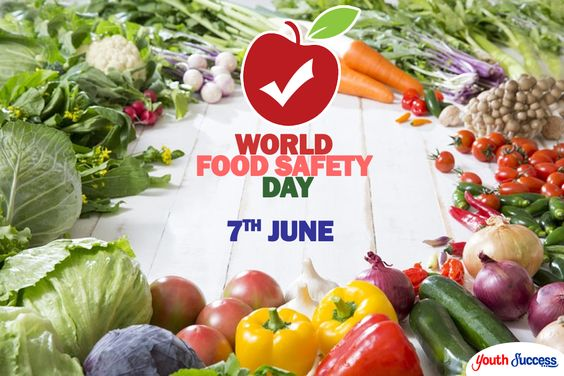 World Food Safety Day - 7 June  IMAGES, GIF, ANIMATED GIF, WALLPAPER, STICKER FOR WHATSAPP & FACEBOOK