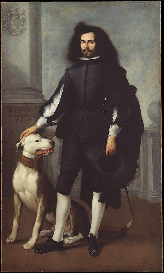 Portrait of Don Andrés de Andrade y la Cal -- Circa 1665–72 -- Bartolomé Esteban Murillo -- Spanish -- Oil on canvas -- The Metropolitan Museum of Art, New York: