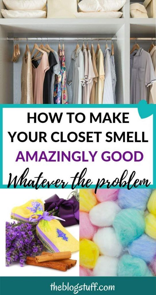 Learn How To Get Rid Of Closet Smell With These Brilliant Hacks