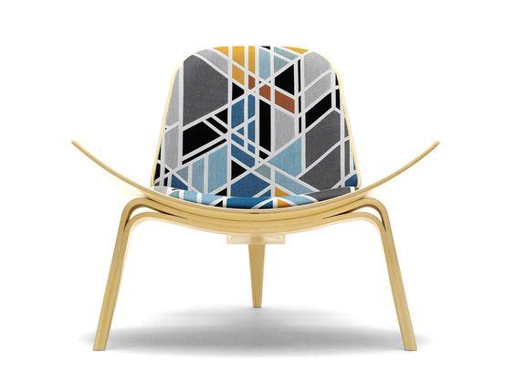 SILLAS ICONICAS - silla SHELL by HANS WEGNER