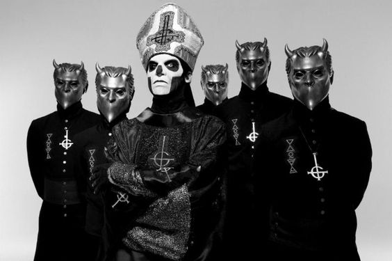 """NEWS: The heavy metal band, Ghost, has announced a North American tour, called the """"Black To The Future Tour,"""" for April and May. Details at http://digtb.us/1mGOdWv"""