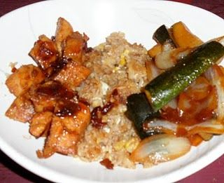 "Hibachi Chicken without the flaming onion....sounds yummy and it's a ""frugal"" recipe!"