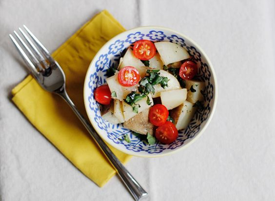 no mayo potato salad.
