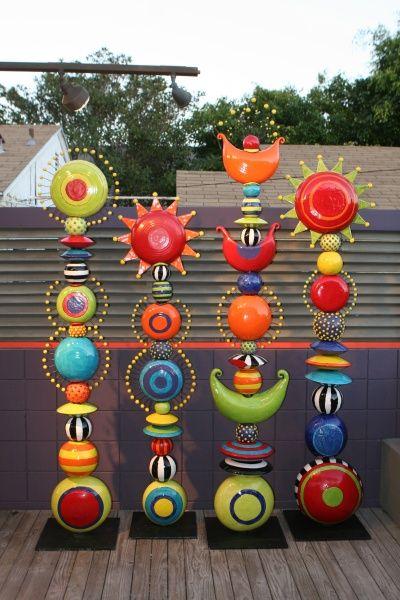 totems, keramiken and keramikskulpturen on pinterest, Garten Ideen