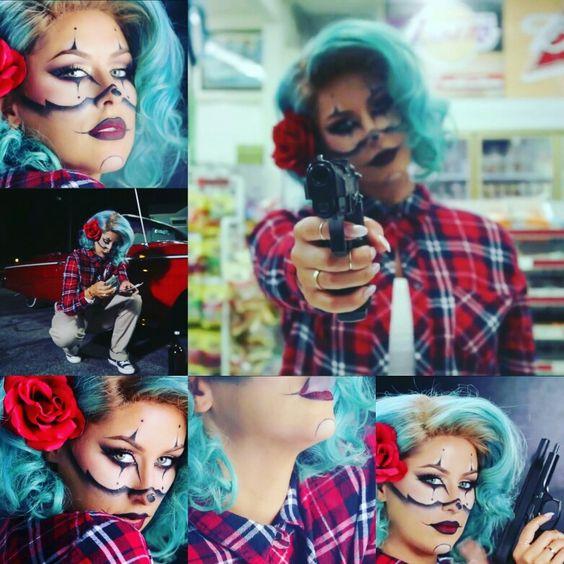Gangster Clown | Halloween Tutorials | Pinterest | Gangsters And Clowns