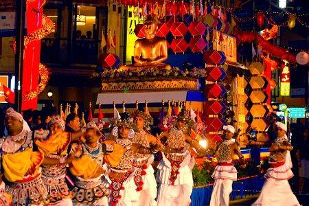 Lễ Phật Đản ở Singapore