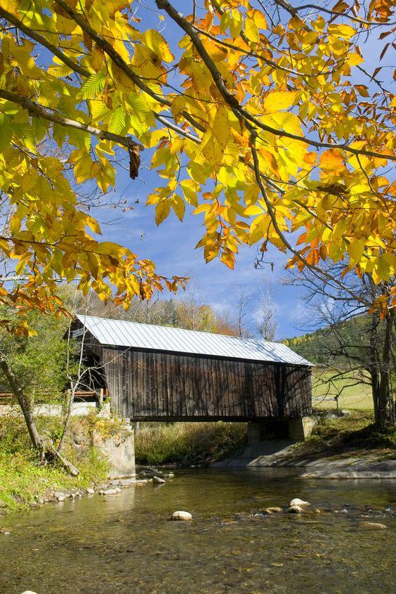 Larkin Covered Bridge, Vermont