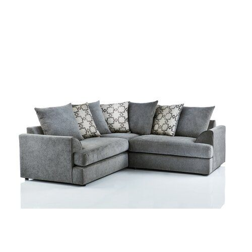 Kimberlee Corner Sofa 17 Stories Colour Dark Grey Corner Sofa Modular Corner Sofa Corner Sofa Design
