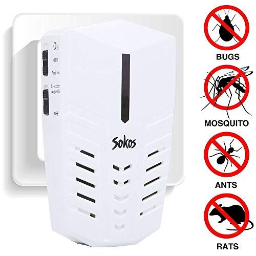 Pest Control Ultrasonic Electric Pest Repeller Wall Plug In Indoor Pest Control Repellent For Mosqu Pest Control Pest Control Bed Bugs Electronic Pest Control